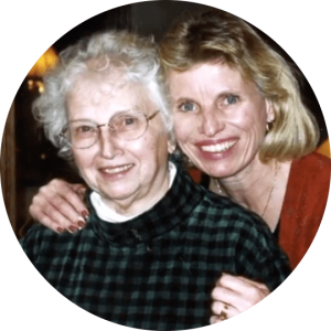 Betty With her Daughter
