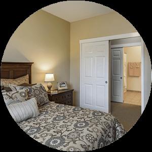 Independent Living Model Bedroom