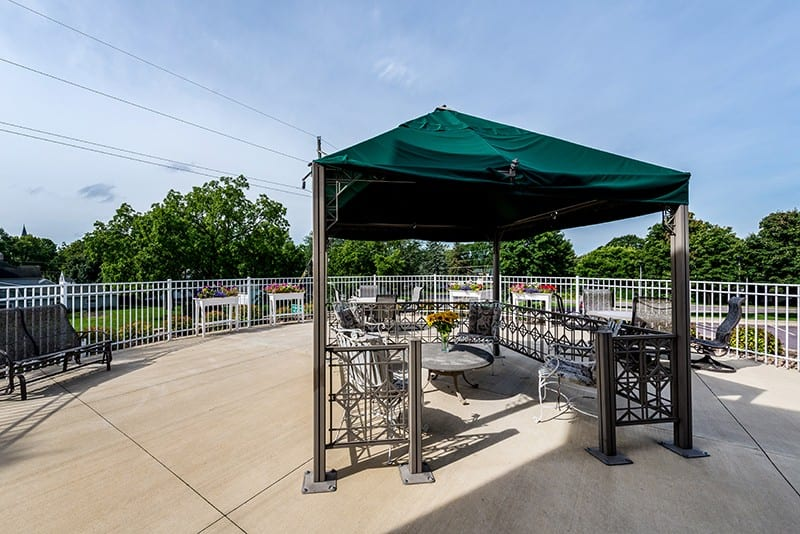 New Perspective Franklin Outdoor Patio