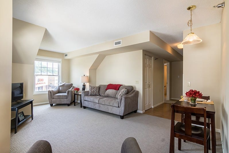 New Perspective Highland Park Model Living Room