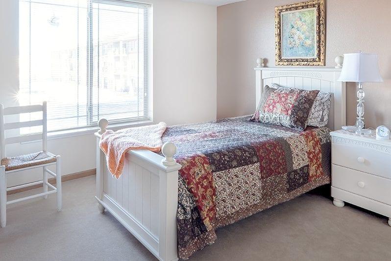 New Perspective Mankato Model Bedroom