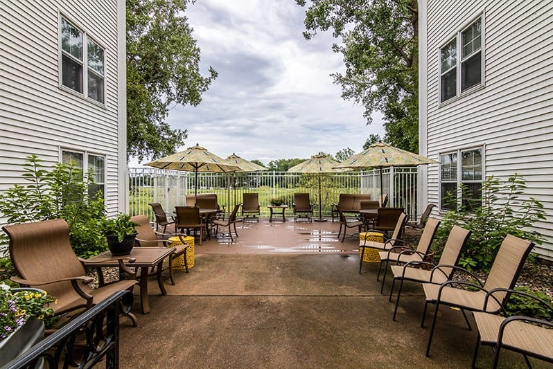 New Perspective Roseville Outdoor Patio