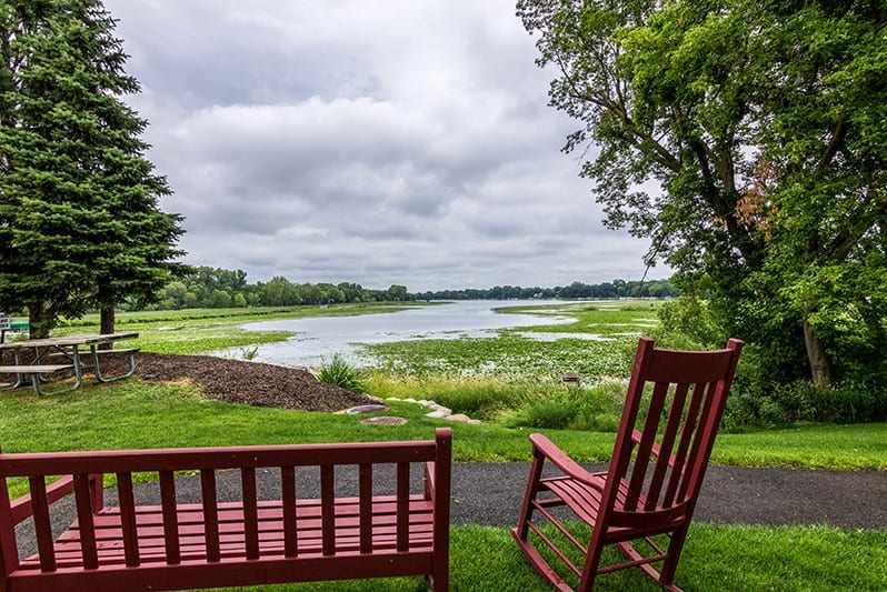 New Perspective Roseville Outdoor Lake View Seating