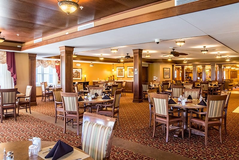 New Perspective Superior, WI Dining Room