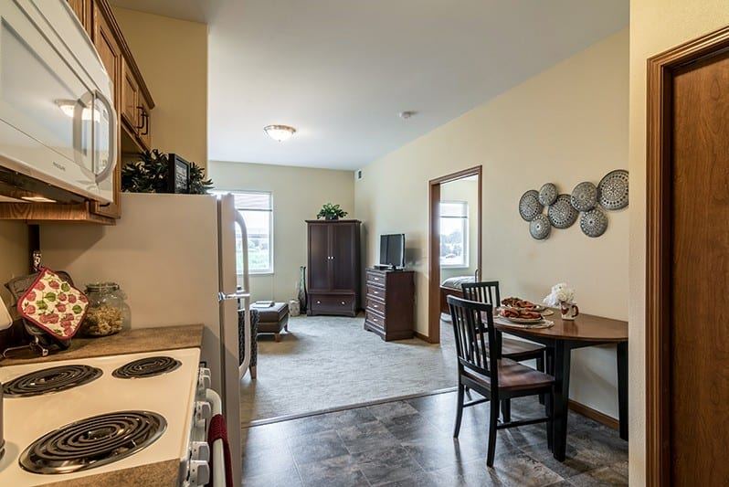New Perspective Woodbury Model Apartment