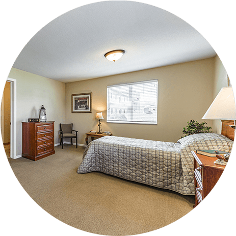 Assisted Living Bedroom