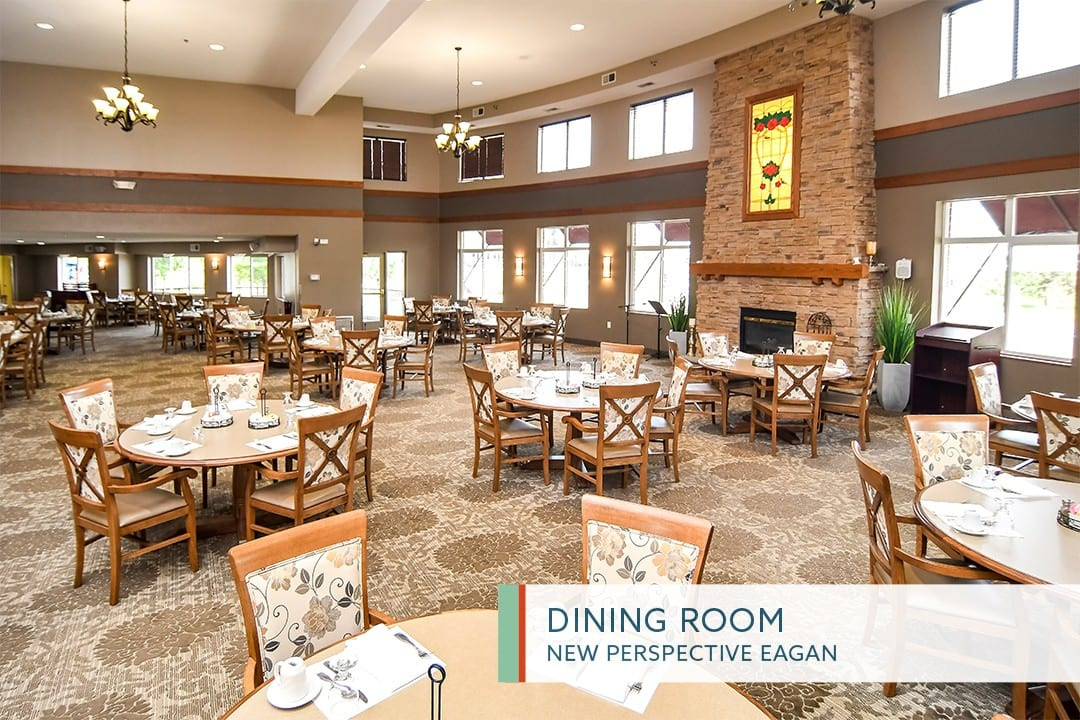 Dining Room at New Perspective Eagan