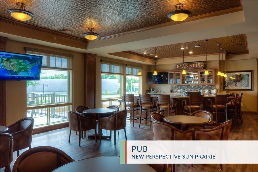 Pub in New Perspective Sun Prairie