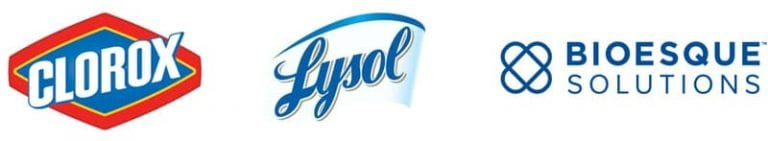Clorox, Lysol and Bioesque Solutions