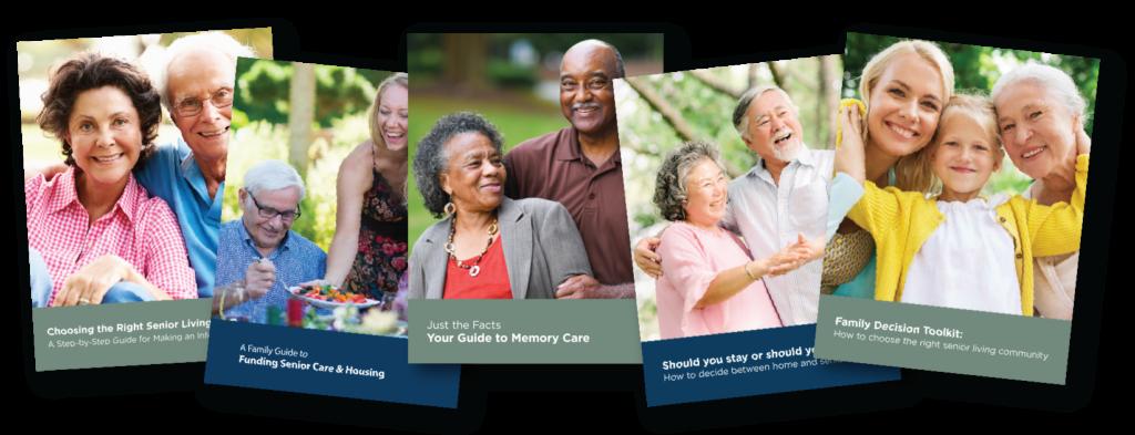 Senior Living Guide Covers